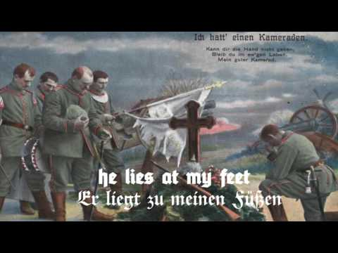 Ich hatt' einen Kameraden (German and English Lyrics)