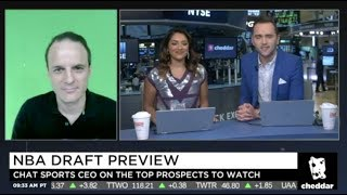 James Yoder Joins Cheddar To Discuss The NBA Draft And NBA Free Agency