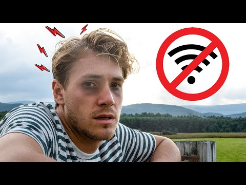 Green Bank West Virginia - WIFI Is ILLEGAL In This City