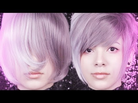 Cutting + Styling Gray Wig (MoeMall)
