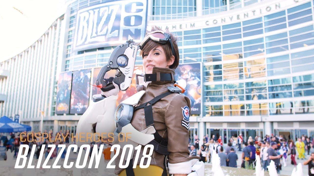 Косплей на BlizzCon 2018 | Overwatch