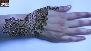 Gambar cover Arabic Pattern Designer Henna Mehndi Design | Beautiful Mehendi Tutorial by MehndiArtistica 🌸Floral