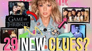 Taylor Swift Wears 29 NEW #TS7 Clues, What Do They Mean?