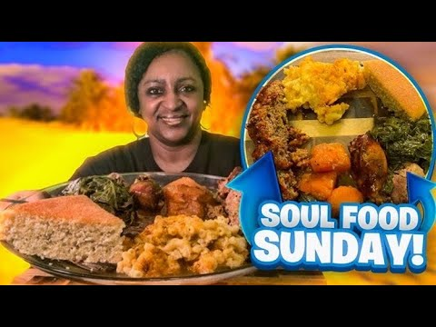 Soul Food Sunday Delicious Homemade Meatloaf Mukbang Cooking Show Youtube