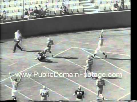 UCLA defeats Missouri 1966 college football archival footage