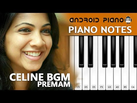 Celine BGM Premam Piano Notes | Premam theme BGM Red Velvet | Premam Bgm theme music |