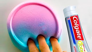 Soap and Colgate Toothpaste Slime , How to Make Slime Soap Salt and Toothpaste, NO GLUE !!