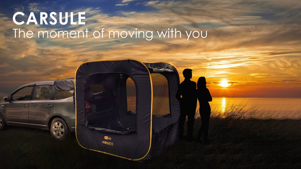 CARSULE - A Pop-Up Cabin for your Car video thumbnail