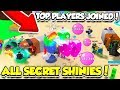 *INSANE* ALL SECRET SHINY PETS AND BEST BUBBLE GUM SIMULATOR PLAYERS!! (Roblox)
