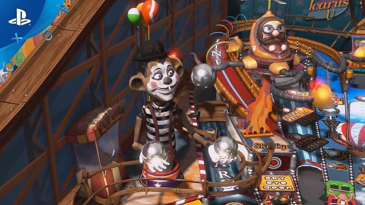 Pinball FX3 announced for PS4, promising the biggest pinball game