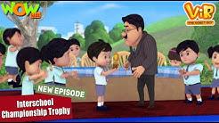 Vir The Robot Boy Interschool Championship Trophy NEW HINDI EPISODE