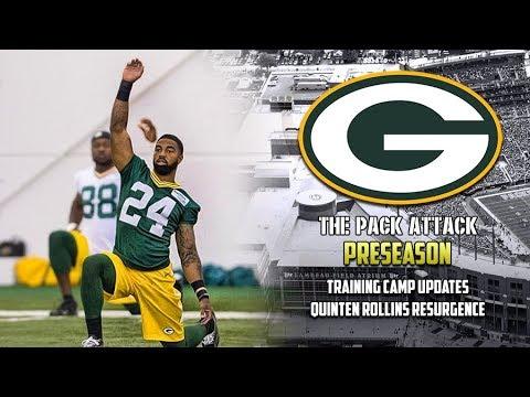 Green Bay Packers | Preseason | Training Camp Updates - Quinten Rollins Resurgence