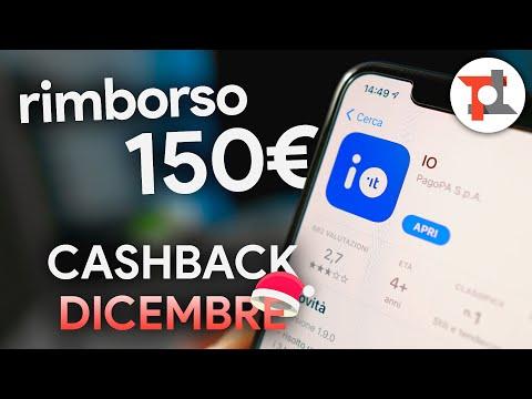 Vi spiego come FUNZIONA il Cashback di Stato di dicembre e RICEVERE 150€ di rimborso!
