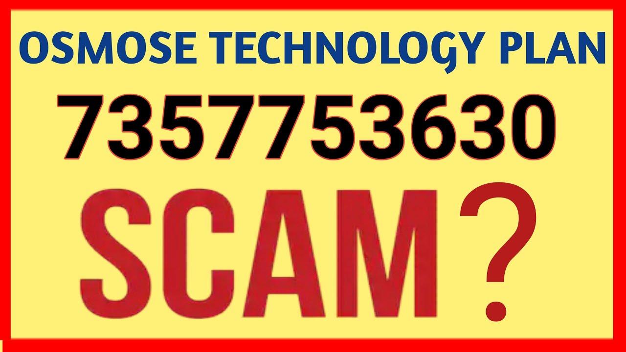 Osmose Technology Kya Hai 7357753630 Osmose Technology Pvt Ltd Osmose Technology Plan In Hindi Youtube