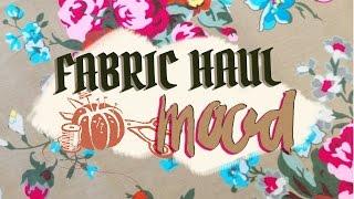 Spring/Summer Fabric Haul - Mood Fabrics