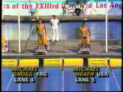 1984 Olympic Games  Men's 200 Meter Freestyle