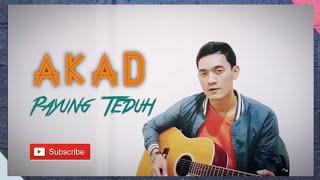 Akad - Payung Teduh [ Lirik ] Surya live accoustic cover
