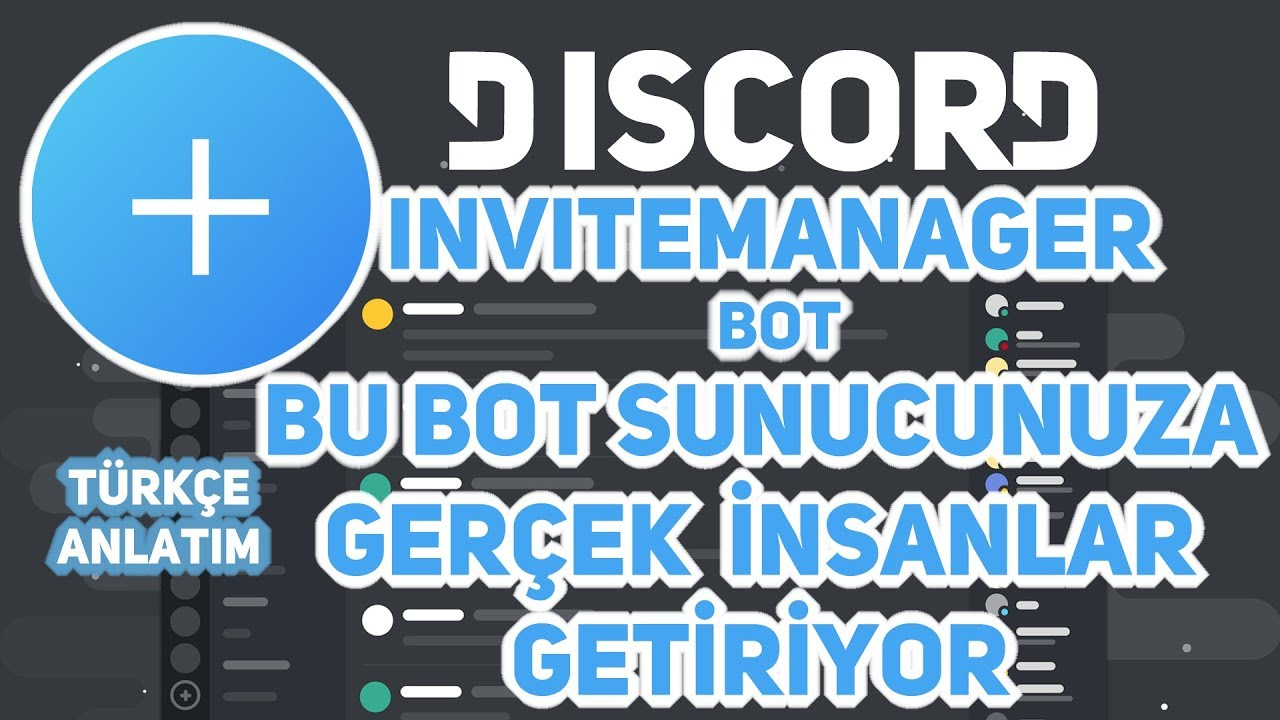 it'il bring a lot of people to your server • İNVİTEMANAGER BOT