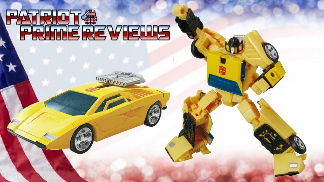 Patriot Prime Reviews the Earthrise Sunstreaker