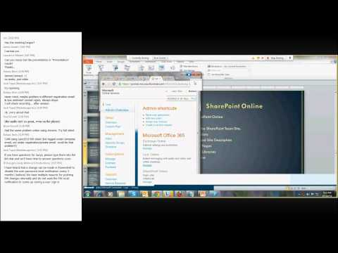 Lync and Learn 6 - Office 365 Administration