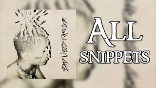 XXXTENTACION - Bad Vibes Forever : All Possible Snippets (NEW ALBUM)