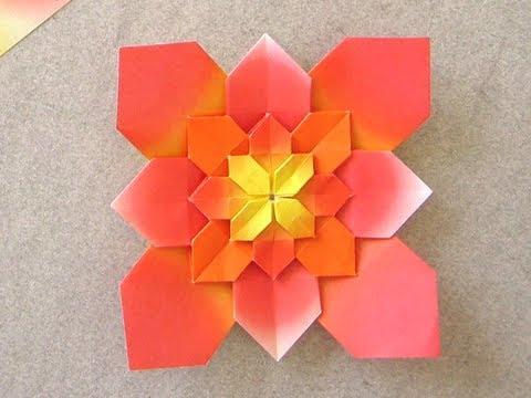 [old] Origami Hydrangea by Shuzo Fujimoto - YouTube - photo#9
