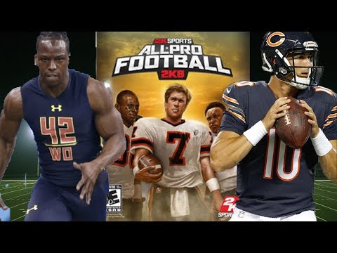 JOHN ROSS & MITCH TRUBISKY TEAM UP IN ALL PRO FOOTBALL 2K8