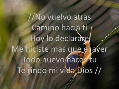 Te Seguire Siempre - Ricardo Sanchez - moving forward (letra)