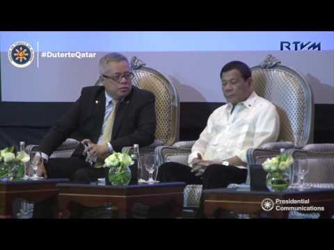 Philippines-Qatar Business Forum 4/15/2015