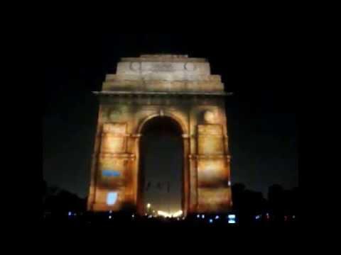Vande Mataram India Gate-New Delhi.mp4