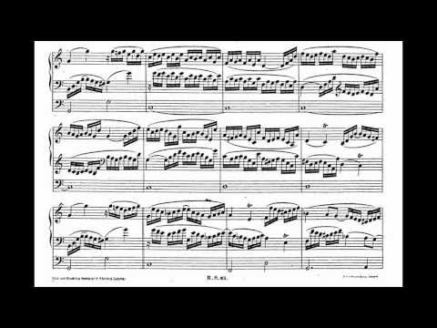 Schumann - Six Studies For Organ Op. 56 No. 1