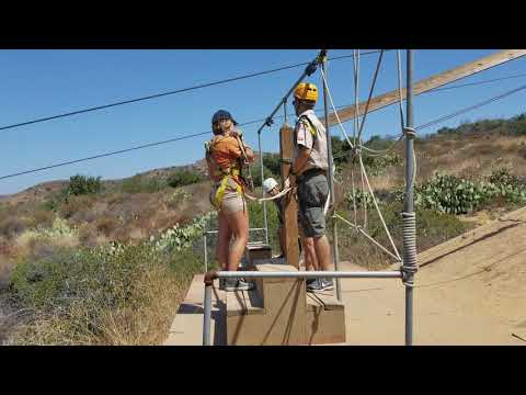 Anh David Zip Line at IOEC
