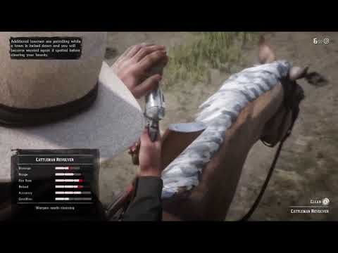 Red Dead Redemption 2 How To Clean Your Gun