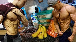 FULL DAY OF EATING Building Muscle While Staying Lean (CLEAN BULK)