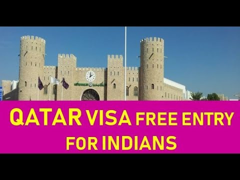 QATAR VISA FREE ENTRY FOR INDIANS | NOW ITS EASY TO FIND JOB  IN QATAR