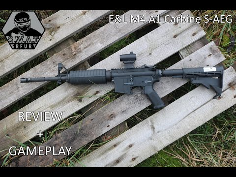 "E&L M4 A1 Carbine ""Diamond Series"" S-AEG Review"
