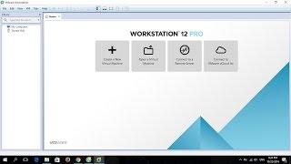 Hướng dẫn cài đặt và kích hoạt key bản quyền vmware workstation 12 pro cho Windows 7/8.1/10(, 2016-10-22T14:25:12.000Z)