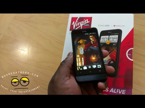HTC One V Review- On Virgin Mobile