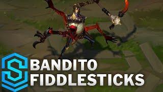 Bandito Fiddlesticks (2020) Skin Spotlight - League of Legends