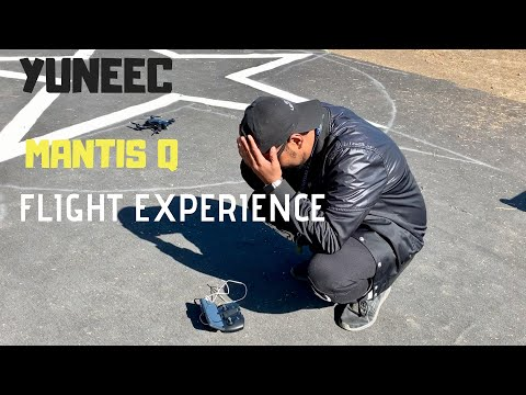 YUNEEC MANTIS Q Review FLIGHT EXPERIENCE