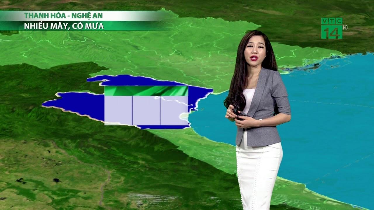 Thời tiết 6h ngày 12/04/2019: Lốc, sét, mưa đá ở Thanh Hóa và Nghệ An | VTC14