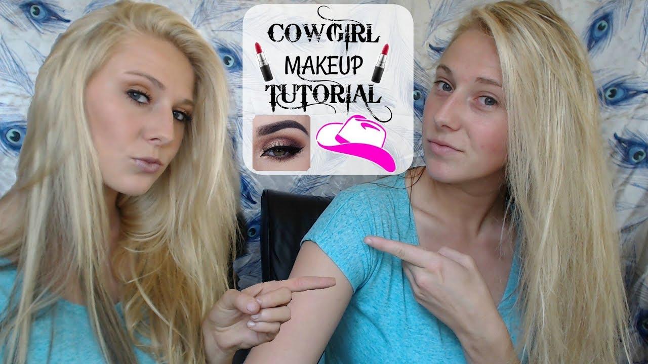 a12b5b0e119de Cowgirl Makeup Tutorial Funny