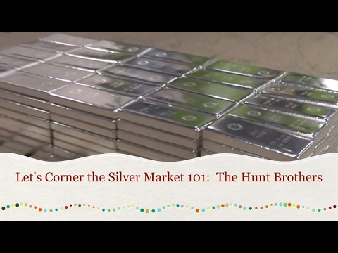 The Hunt Brothers WANTED ALL THE SILVER BULLION IN THE WORLD.
