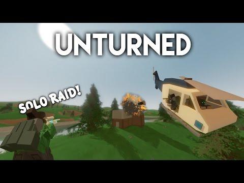 Unturned   Solo Base Raid! (Big Loot)