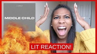J. Cole - Middle Child (Official Audio) - REACTION!
