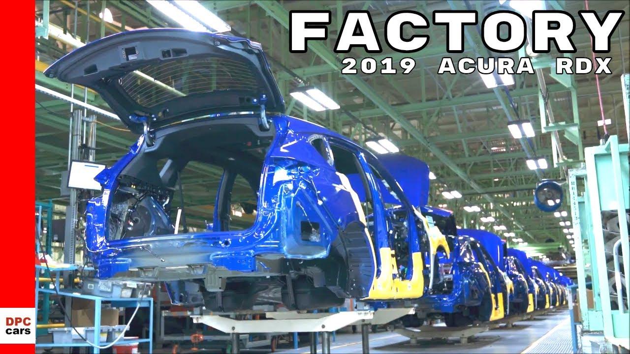 2019 Acura RDX starts production in Ohio
