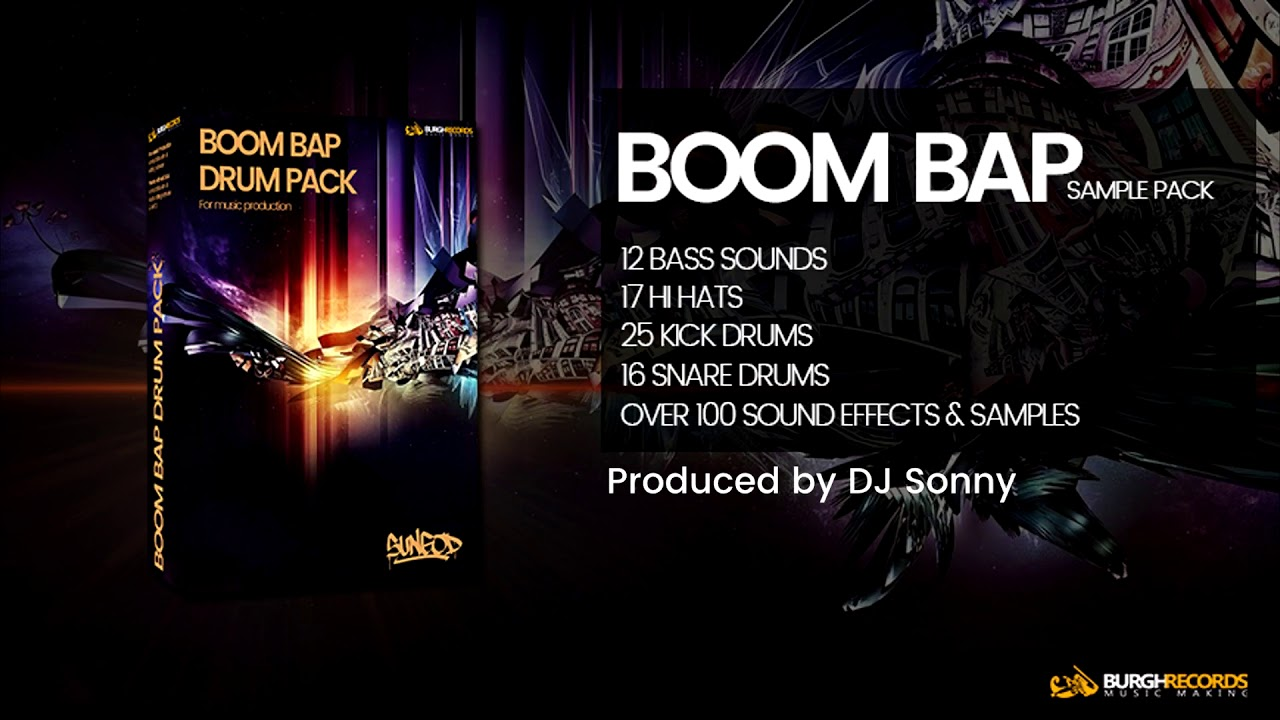 Free Sample Pack | Over 200 Boom Bap Drums & Samples | BurghRecords