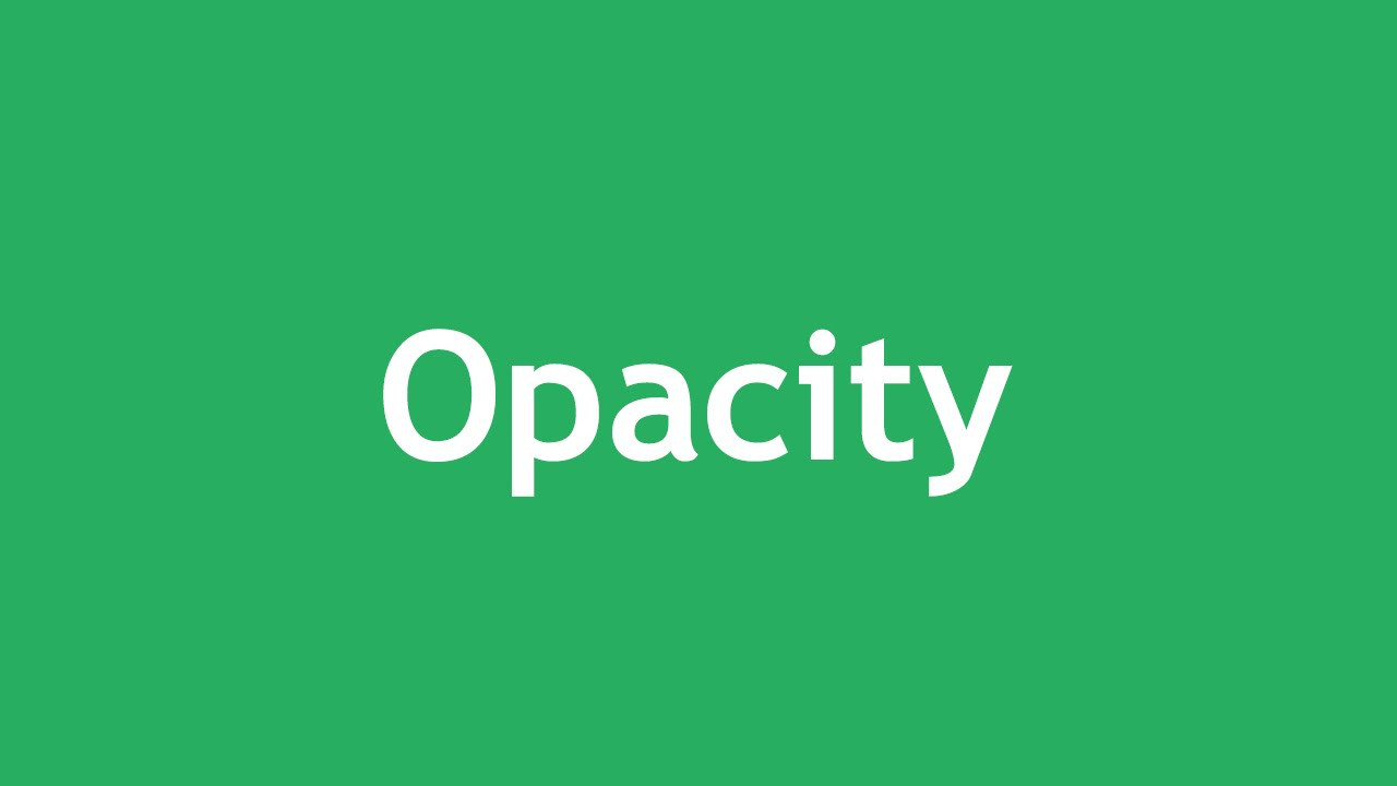 [ Css3 In Arabic ] #26 - Opacity