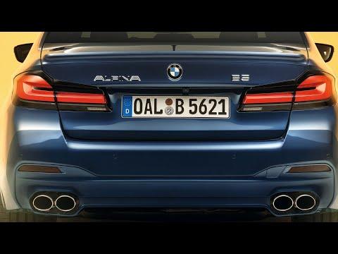 621 HP Facelift BMW Alpina B5 BiTurbo 5-series Looks GREAT! 330 Km/h Top Speed! 206 Mph!