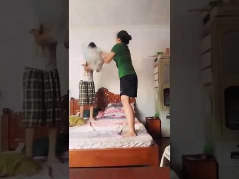 Pillow fight!! NA hindi na namin kinaya😅 thumbnail